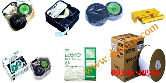 Phụ kiện ống lồng, băng mực, băng nhãn máy in đầu cốt MAX