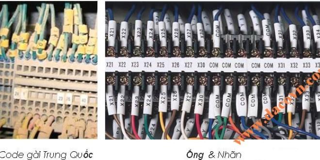 Máy in ống lồng đầu cốt và in nhãn đánh dấu đầu dây điện