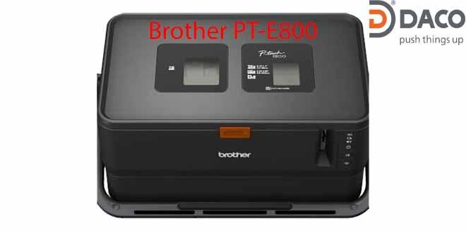 Máy in ống lồng-in nhãn đa lớp Brother PT-E800, Kết nối PC, Không bàn phím