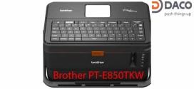 Máy in ống lồng-in nhãn đa lớp Brother PT-E850TKW, Kết nối PC, Có bàn phím