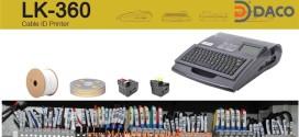 Máy In Ống Lồng Đầu Cốt LK-360, Kết Nối PC, Bàn Phím Qwerty