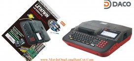 Máy In Ống Lồng Đầu Cốt MAX LM 550A- Bàn phím Qwerty-Kết nối PC
