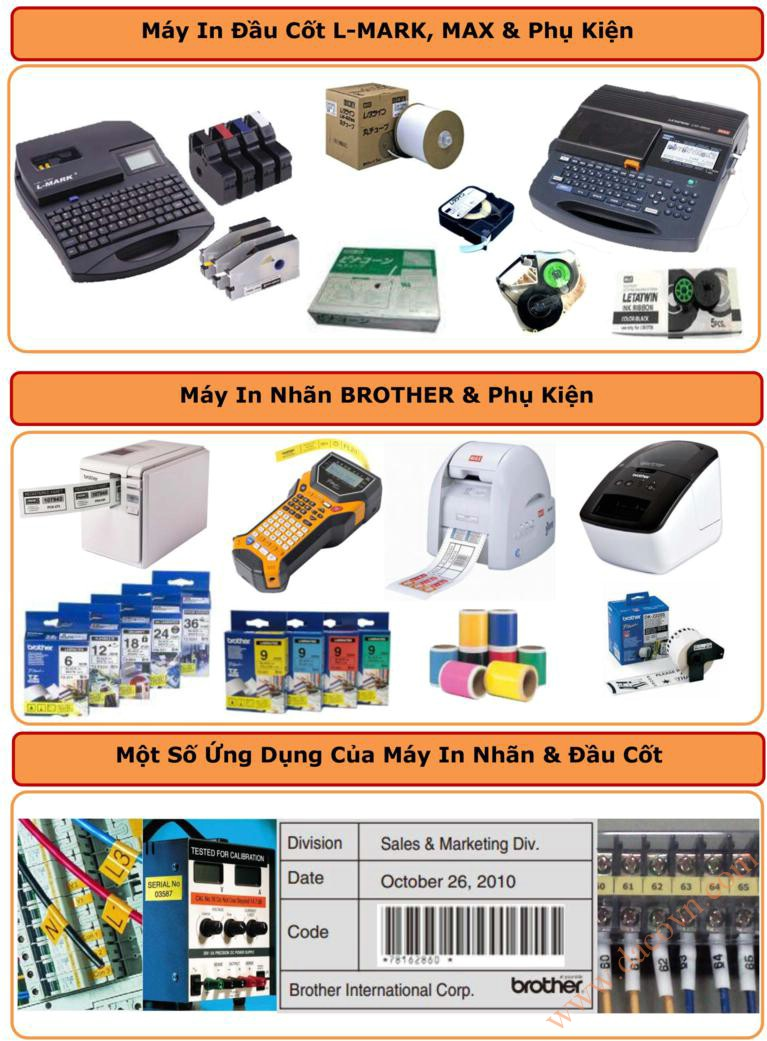 may in dau cot lm390-a, may in nhan brother,