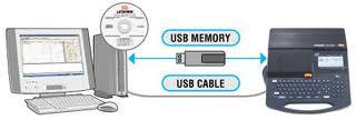máy in đầu cốt LM390A USB PC