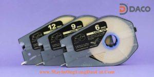 Băng Nhãn In cho Máy in Ống Lồng Đầu Cốt Canon MK1500 MK2500